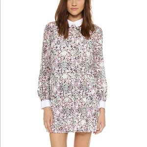 BGBG Collared Floral Dress